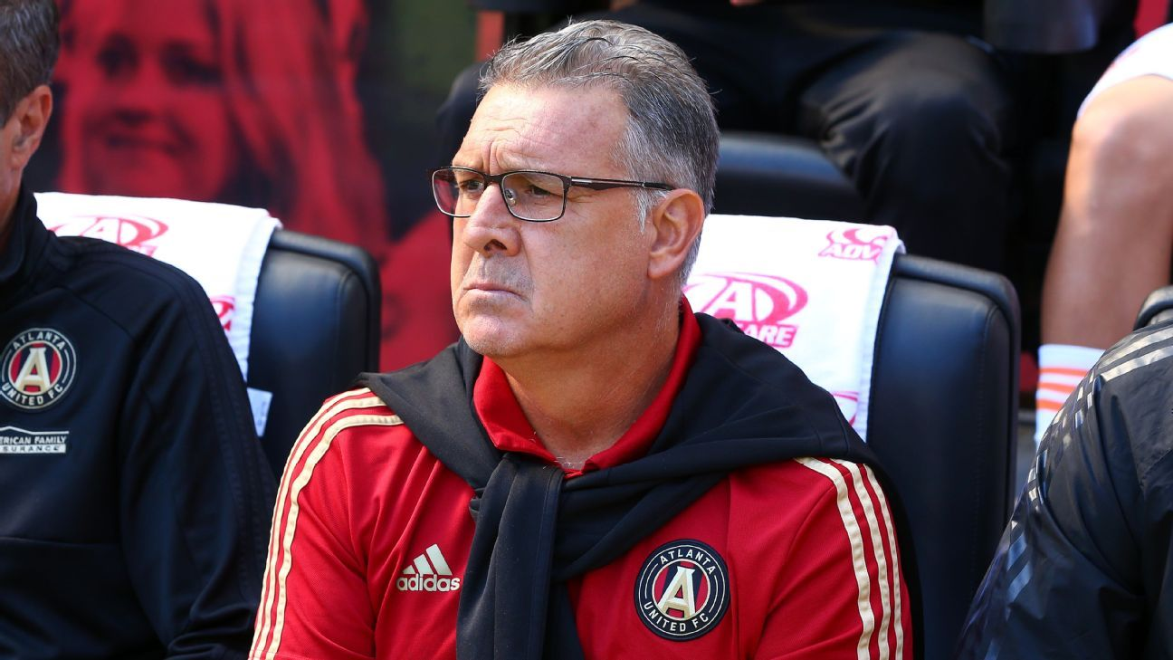 Martino will leave Atlanta United after the season ends